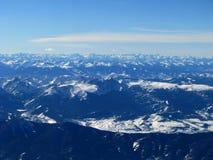Felsiger Berg hoch Stockfotos