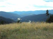 Felsiger Gebirgsnationalpark stockbild