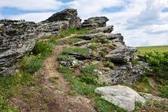 Felsiger Hügel Lizenzfreie Stockbilder
