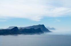 Felsiger Küstenlinie Kap-Punkt Stockbild