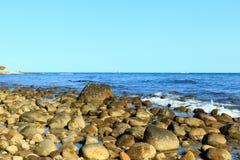 Felsiger Strand Lizenzfreies Stockfoto