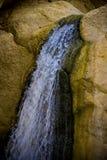 Felsiger Wasserfall Lizenzfreie Stockfotos