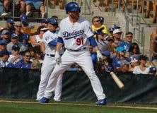 Felsiges M Sturm - Los angelt Dodgers Stockfotos