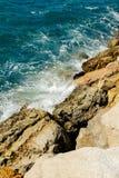 Felsiges Ufer stockfotos