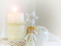 Felt angel Royalty Free Stock Photography