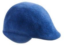 Felt blue cap Stock Photo