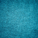 Felt blue textured background Stock Photography