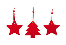 Felt christmas decoration Royalty Free Stock Photos