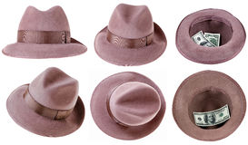 Felt hat Royalty Free Stock Photo