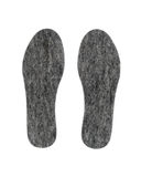 Felt insoles for shoes Royalty Free Stock Photos