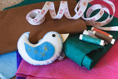 Felt made craft Stock Images