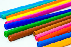 Felt markers Royalty Free Stock Image