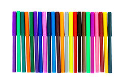 Free Felt Pens Stock Photo - 14357750