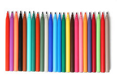 Felt pens Royalty Free Stock Photography