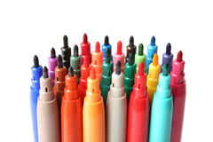 Felt Pens Royalty Free Stock Images