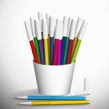 Felt pens. Stock Photos