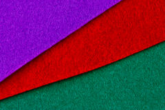 Felt samples Stock Photos