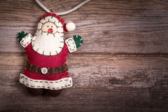 Felt Santa Claus Royalty Free Stock Photography