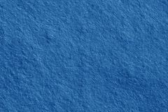 Felt surface in navy blue color. Stock Images