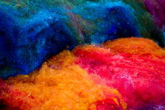 Felt texture Stock Photography
