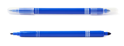Felt-tip pen marker isolated Royalty Free Stock Photography