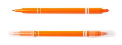 Felt-tip pen marker isolated Royalty Free Stock Photo