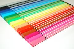 Felt-tip pens Stock Images