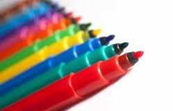 Felt-tip pens Royalty Free Stock Photos
