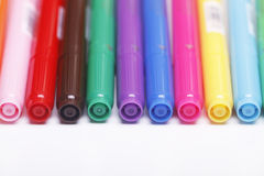 Felt-tip pens Stock Photo