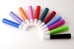 Felt tip pens Stock Photo