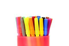 Felt tip pens Stock Images