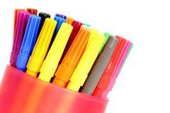 Felt tip pens Stock Photo