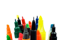 Felt Tip Pens Royalty Free Stock Photo