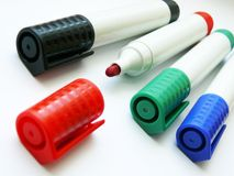Felt-tip pens (markers) Royalty Free Stock Image