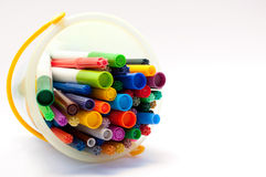 Felt tipped pens Royalty Free Stock Images