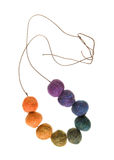 Felted beads Royalty Free Stock Image