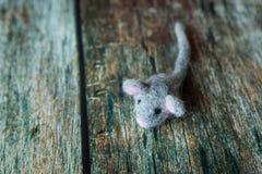 Felted mokietu mysz Fotografia Stock
