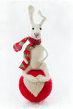 Felted wool toy. Royalty Free Stock Photos