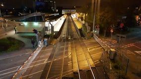feltham Bahnstation Stockbilder
