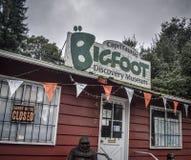 Felton Bigfoot Museum fotografie stock