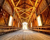 Felton Covered Bridge Royalty Free Stock Images