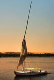 Felucca boat royalty free stock images