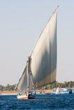 Felucca en el Nilo Foto de archivo