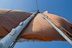 Felucca mast Stock Image
