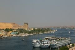 Felucca on the nile Royalty Free Stock Photos