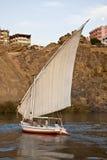 Felucca no Nile Foto de Stock