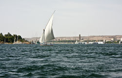 Felucca no Nile Fotografia de Stock