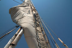 Felucca sail. On river nile asuan egypt Royalty Free Stock Photography