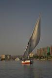 Felucca sailing Stock Photography
