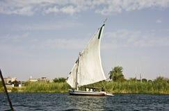 Felucca sur le Nil Photographie stock libre de droits